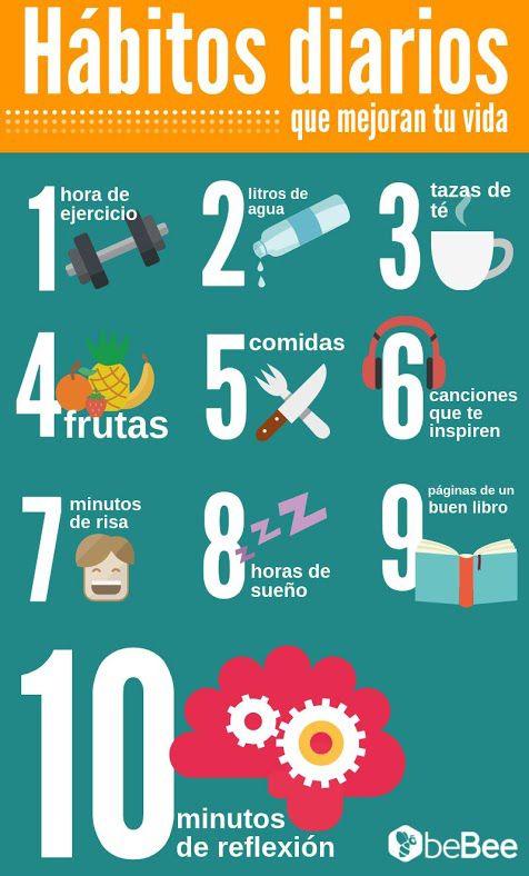 Hábitos diarios que mejoran tu vida