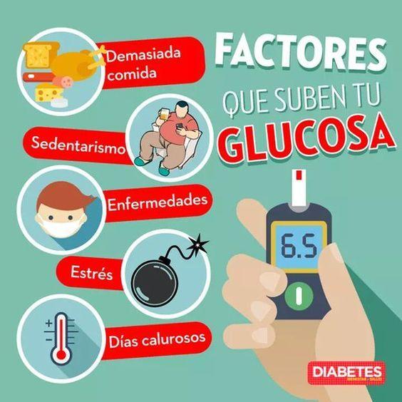 Factores que suben tu glucosa